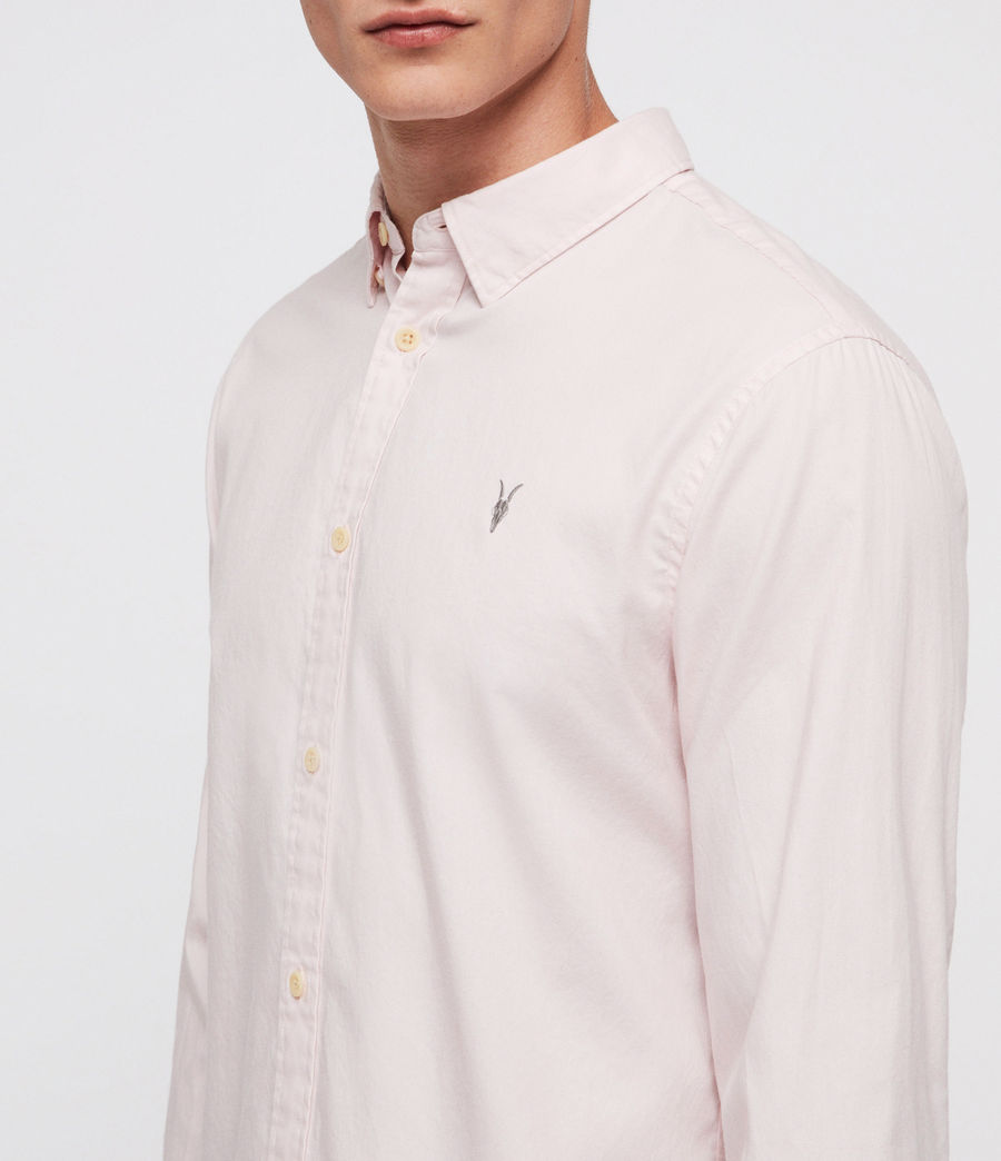 Men's Redondo Shirt (pale_pink) - Image 2