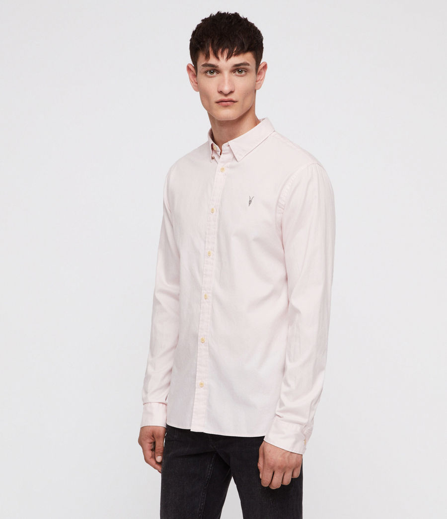 Men's Redondo Shirt (pale_pink) - Image 3