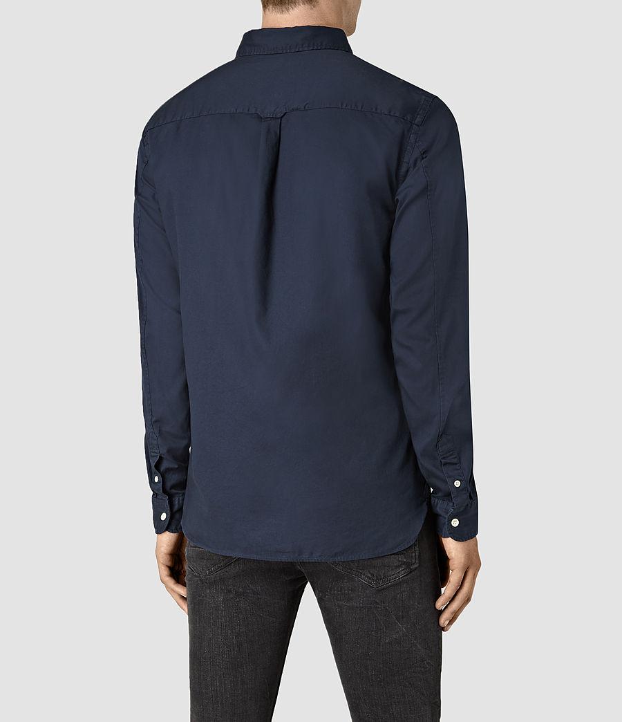 Mens Redondo Long Sleeve Shirt (ink_navy) - Image 3