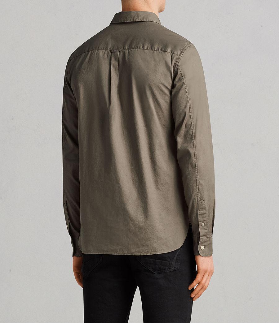 Men's Redondo Long Sleeve Shirt (olive_green) - Image 4