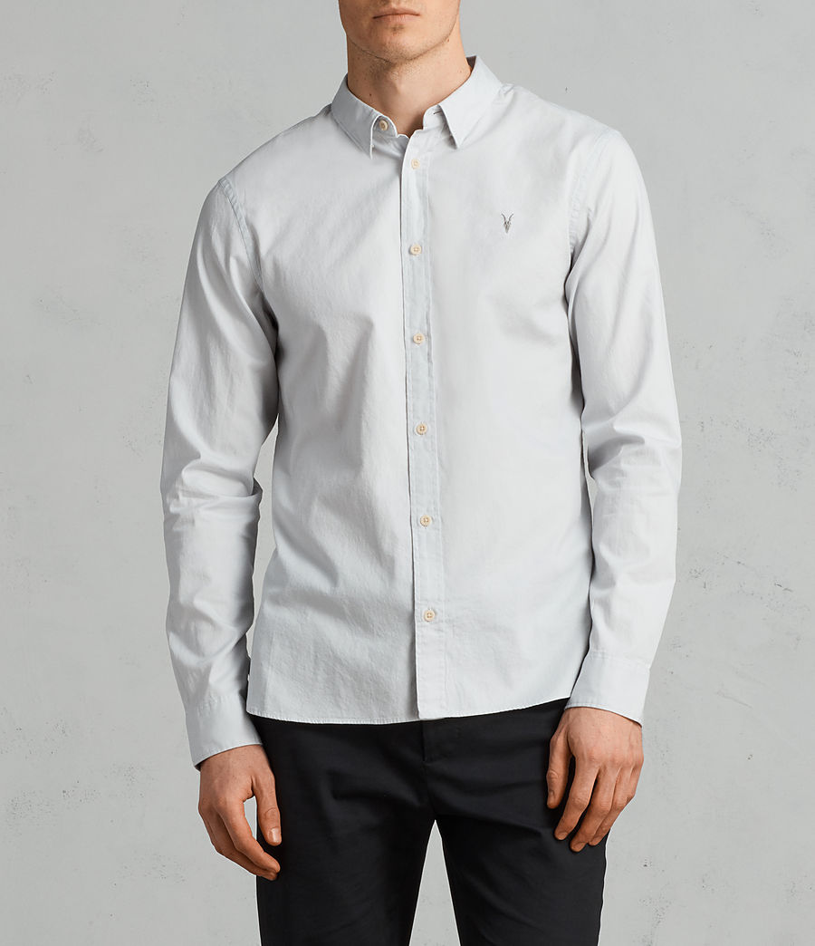 Mens Redondo Long Sleeve Shirt (celest_blue) - Image 1