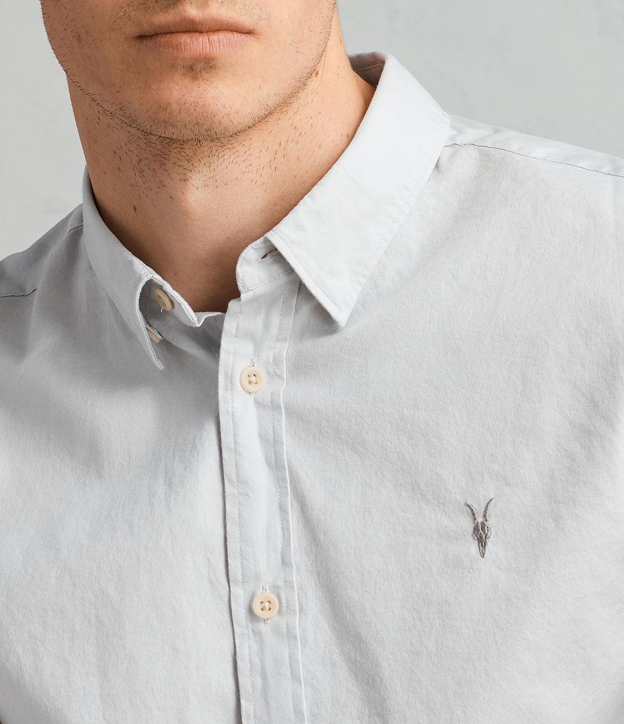 Mens Redondo Long Sleeve Shirt (celest_blue) - Image 2