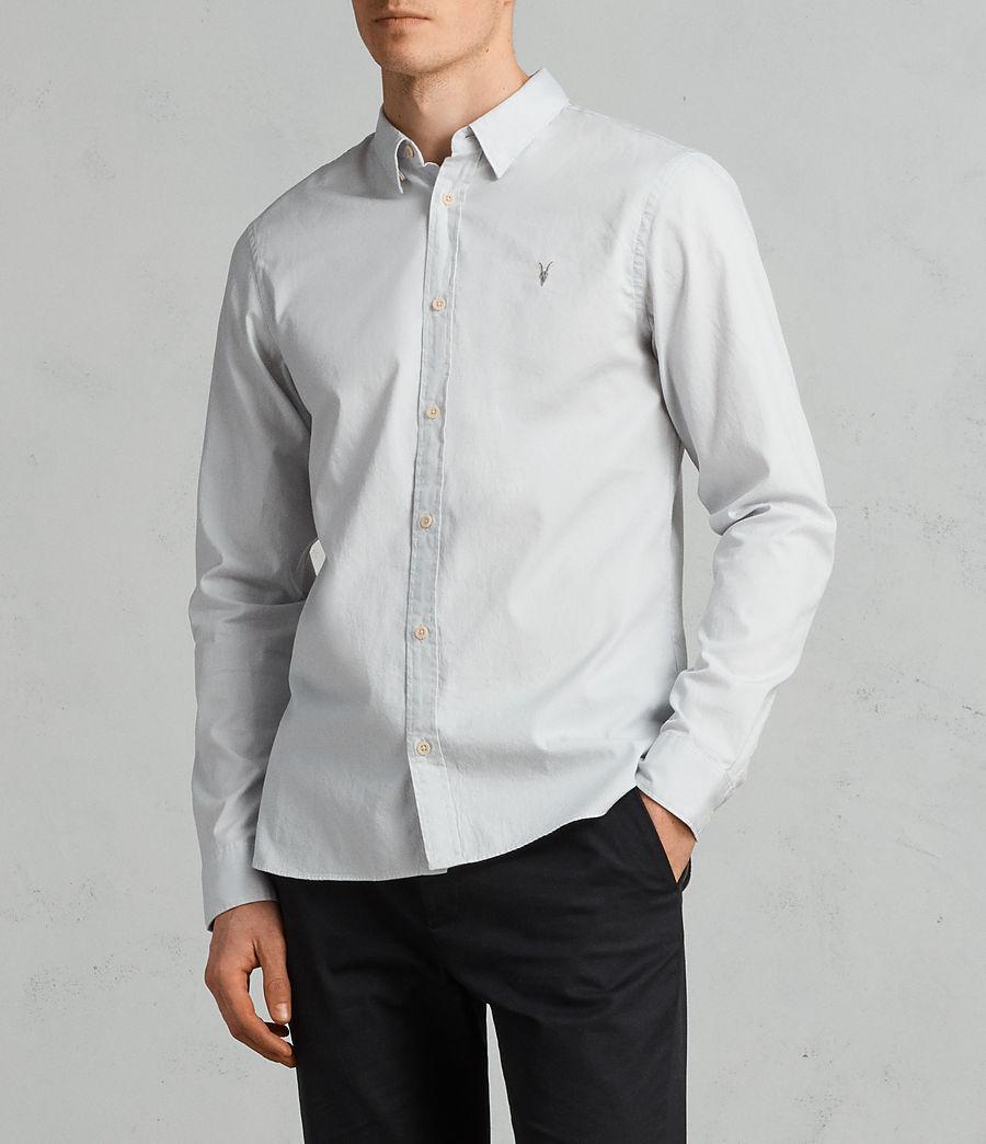 Mens Redondo Long Sleeve Shirt (celest_blue) - Image 3