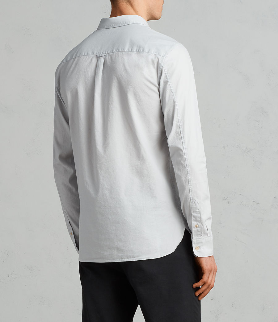 Mens Redondo Long Sleeve Shirt (celest_blue) - Image 4