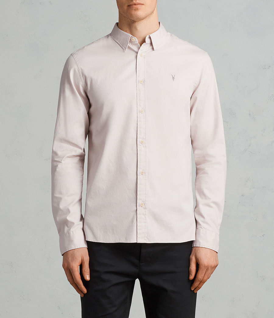Mens Redondo Long Sleeve Shirt (river_pink) - Image 1