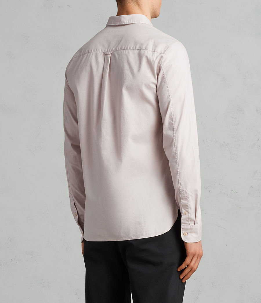 Mens Redondo Long Sleeve Shirt (river_pink) - Image 4