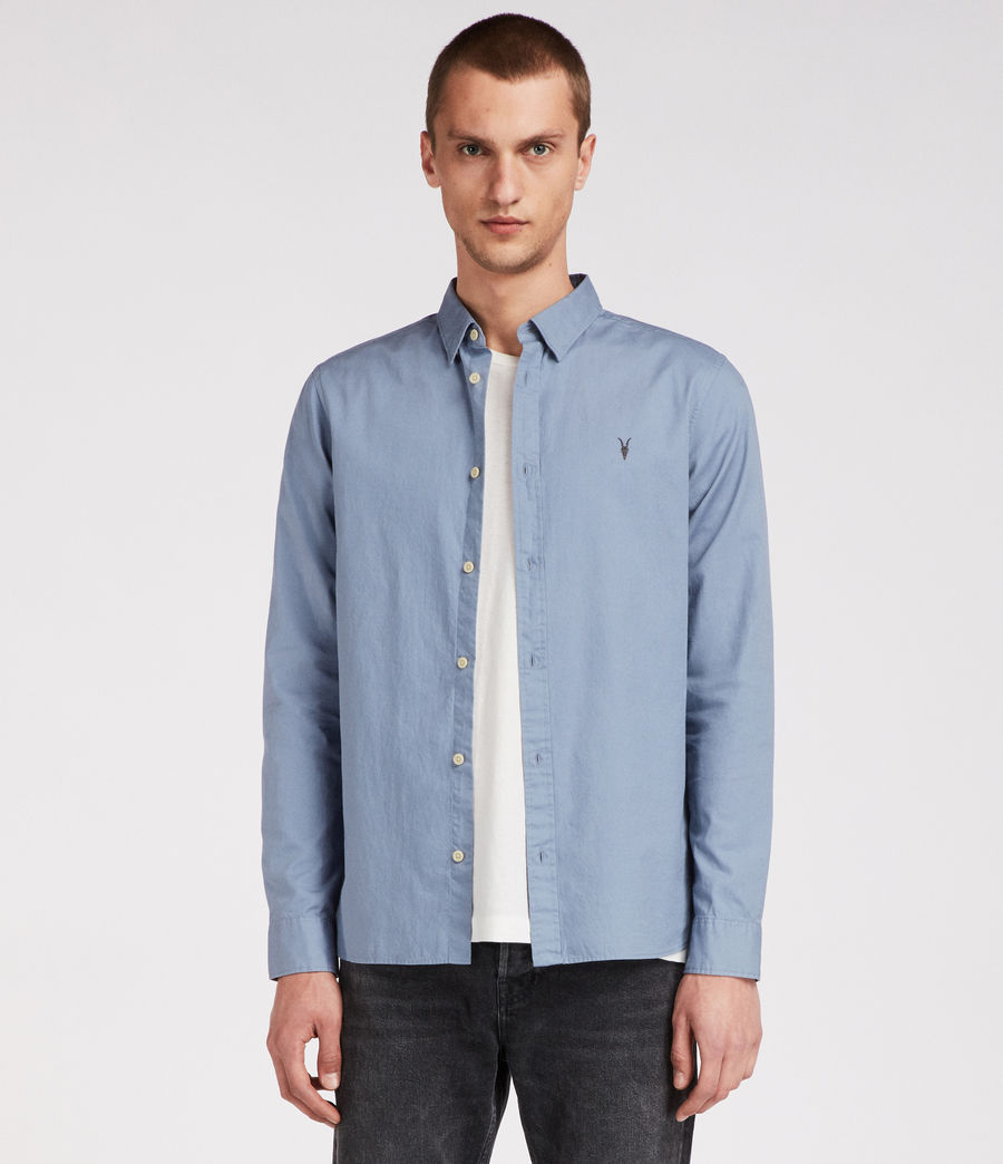 Men's Redondo Long Sleeve Shirt (dove_grey) - Image 1