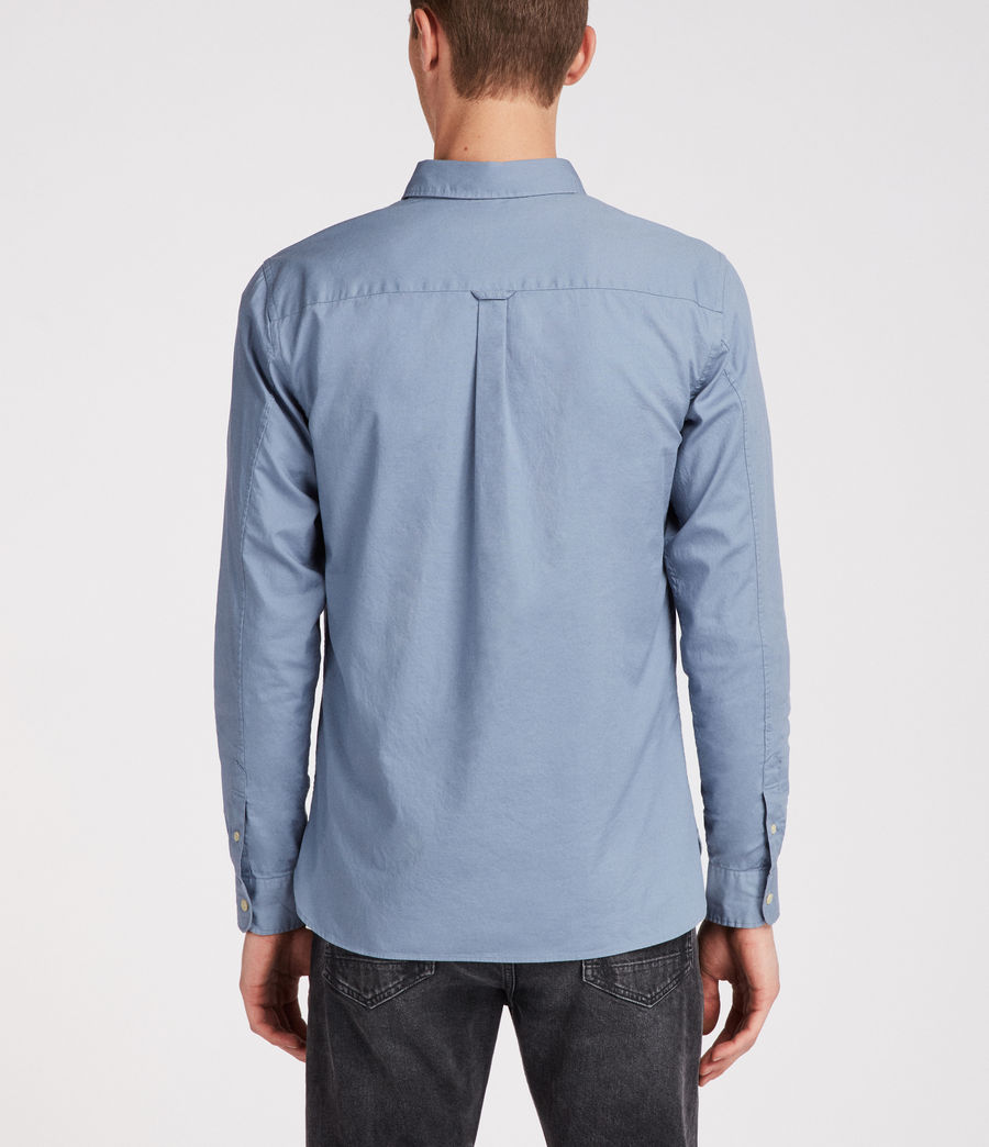 Men's Redondo Long Sleeve Shirt (dove_grey) - Image 4