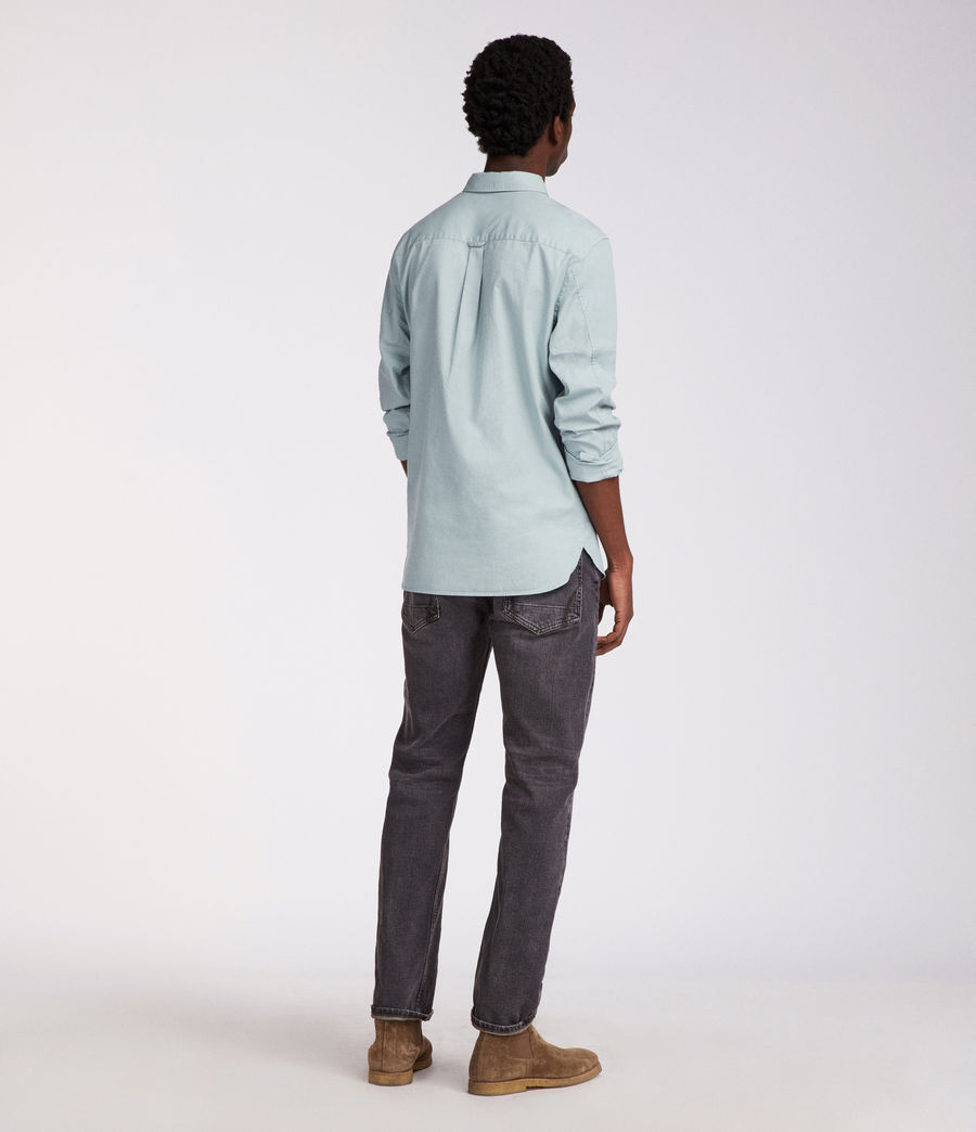 Mens Redondo Long Sleeve Shirt (joshus_green) - Image 4