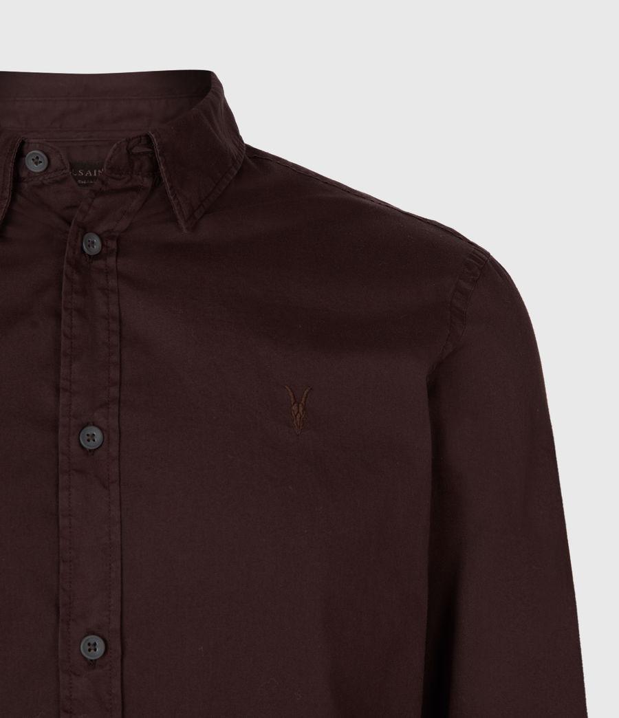 Hommes Chemise à Manches Longues Redondo (black) - Image 4