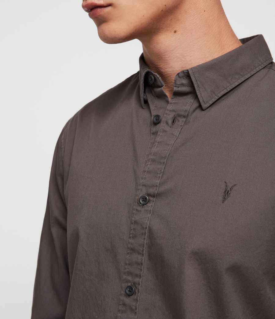 Men's Redondo Shirt (core_grey) - Image 2