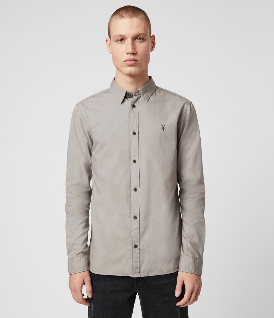 Men's Redondo Long Sleeve Shirt (black) - Image 4