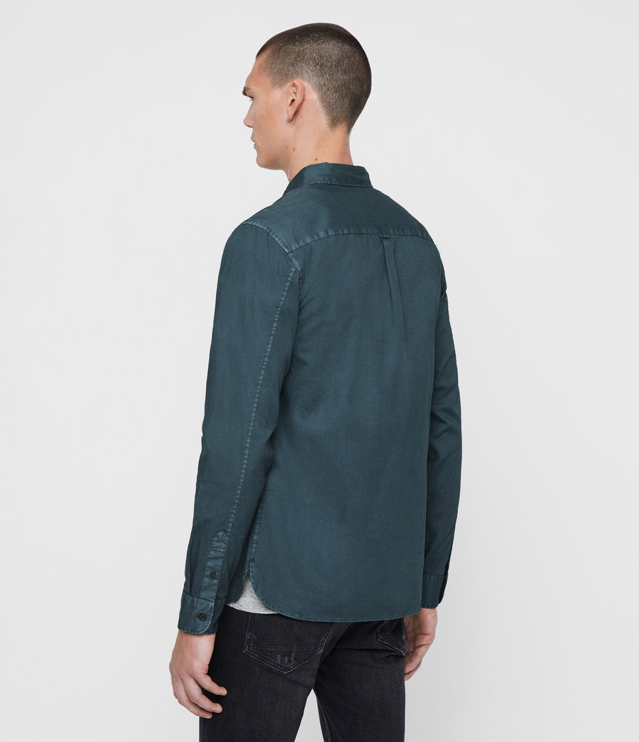 Mens Redondo Long Sleeve Shirt (beech_green) - Image 4