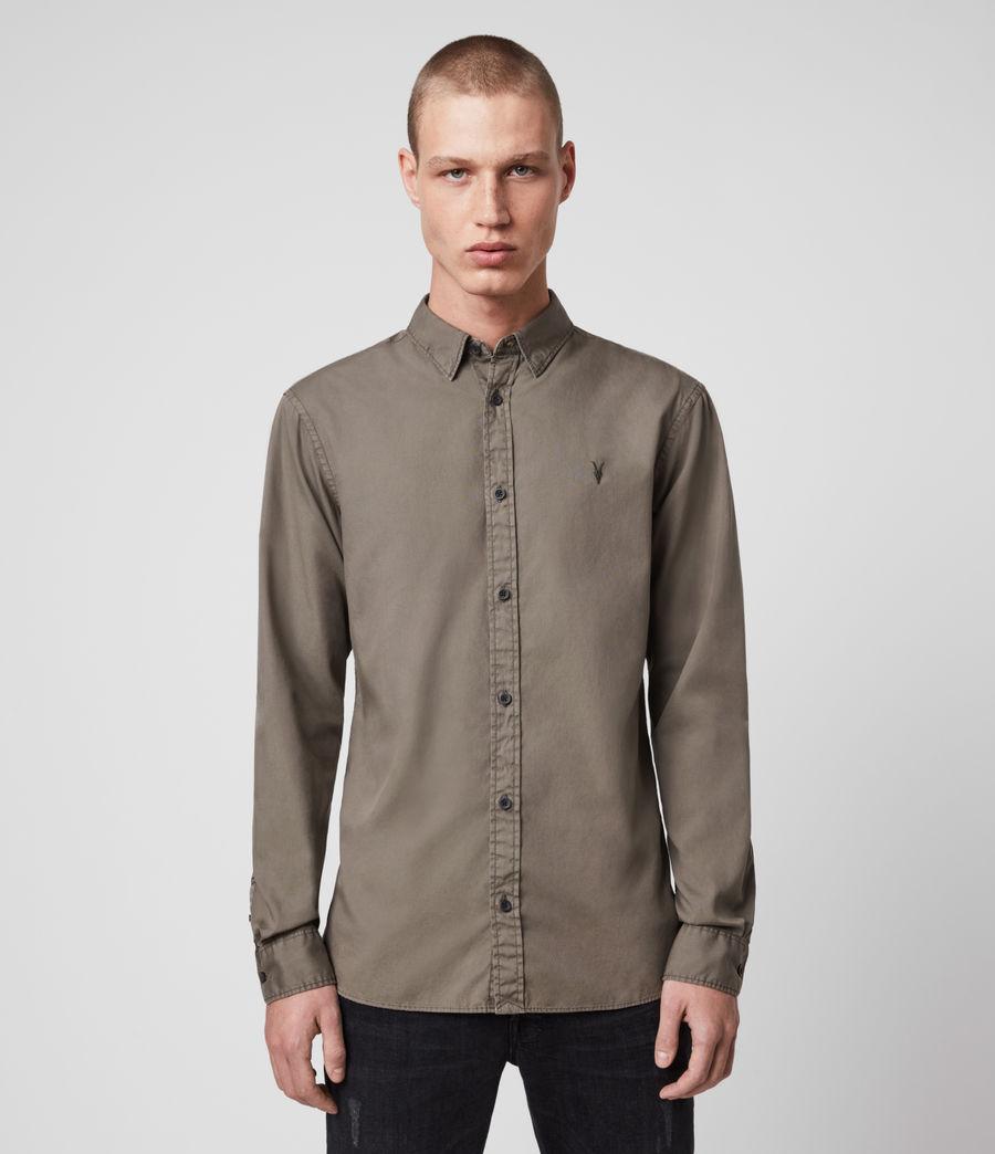 Mens Redondo Long-Sleeve Shirt (light_blue) - Image 1