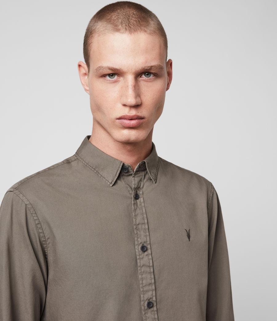 Mens Redondo Long-Sleeve Shirt (light_blue) - Image 2