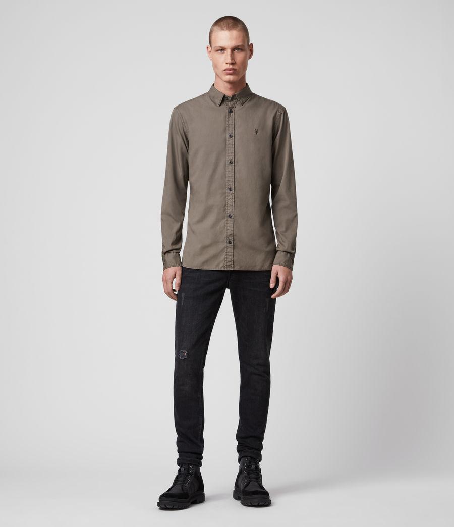 Mens Redondo Long-Sleeve Shirt (light_blue) - Image 3