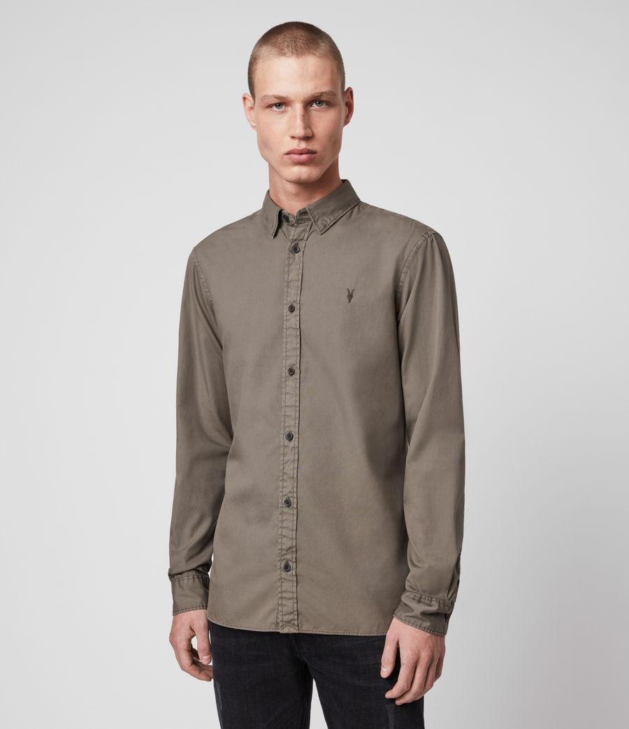 Mens Redondo Long-Sleeve Shirt (light_blue) - Image 4