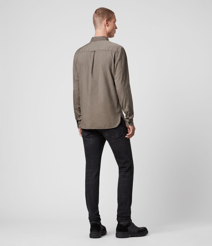 Mens Redondo Long-Sleeve Shirt (light_blue) - Image 5
