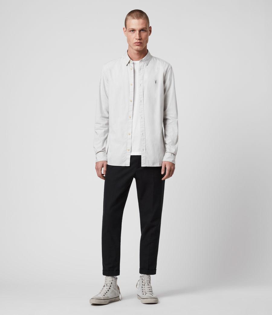 Men's Redondo Long Sleeve Shirt (black) - Image 3