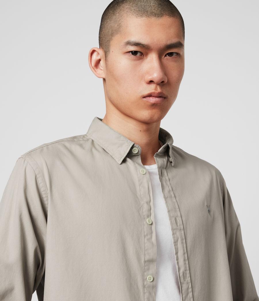 Men's Redondo Long Sleeve Shirt (black) - Image 2