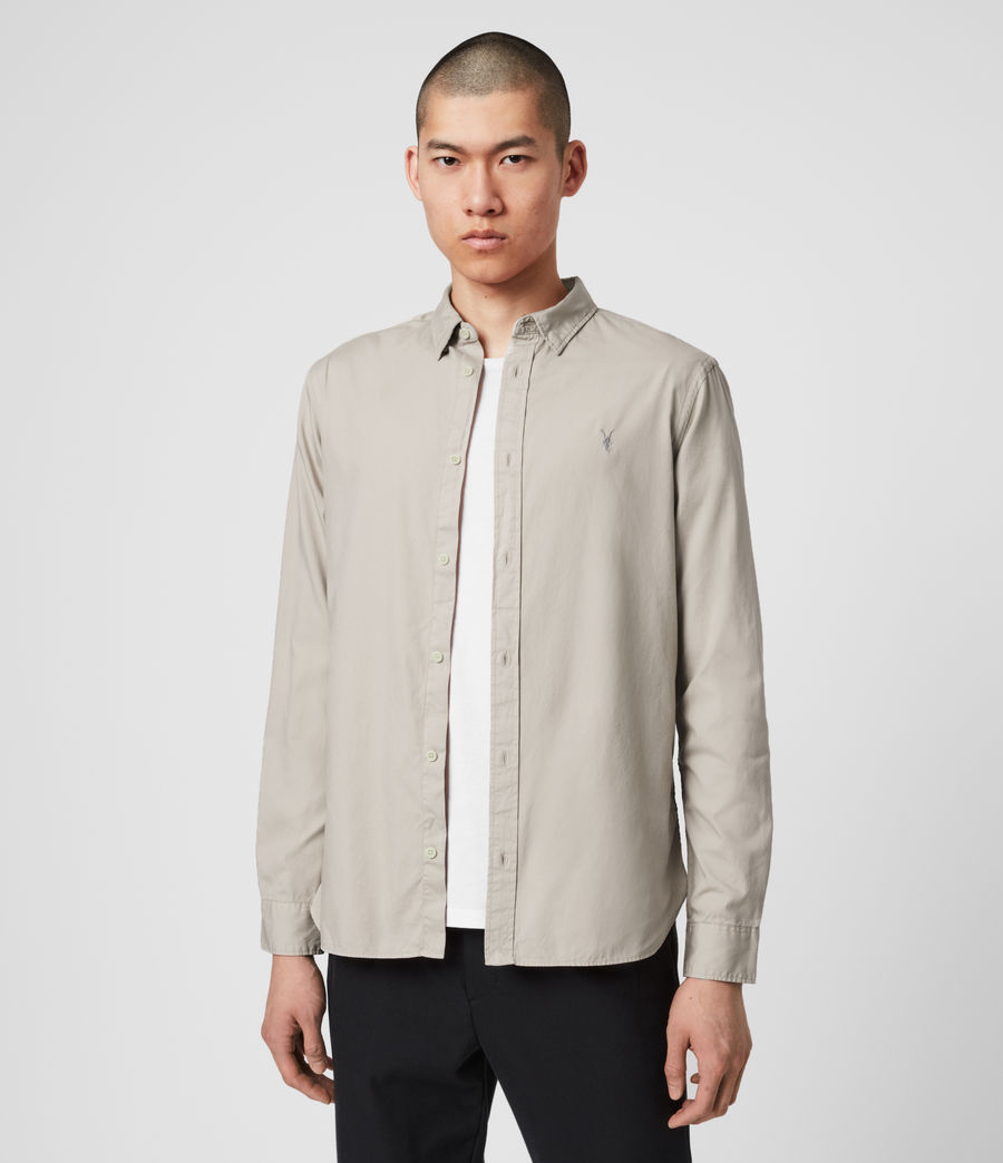Men's Redondo Long Sleeve Shirt (black) - Image 4