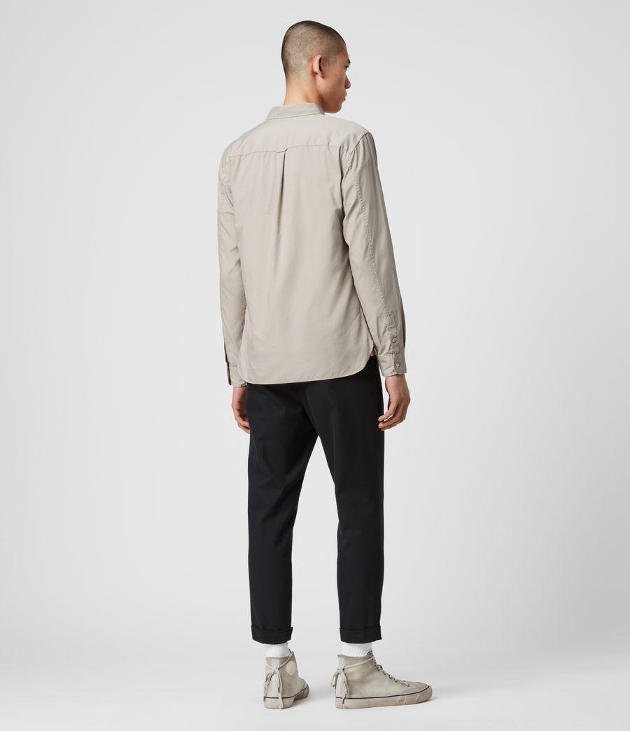 Men's Redondo Long Sleeve Shirt (black) - Image 5