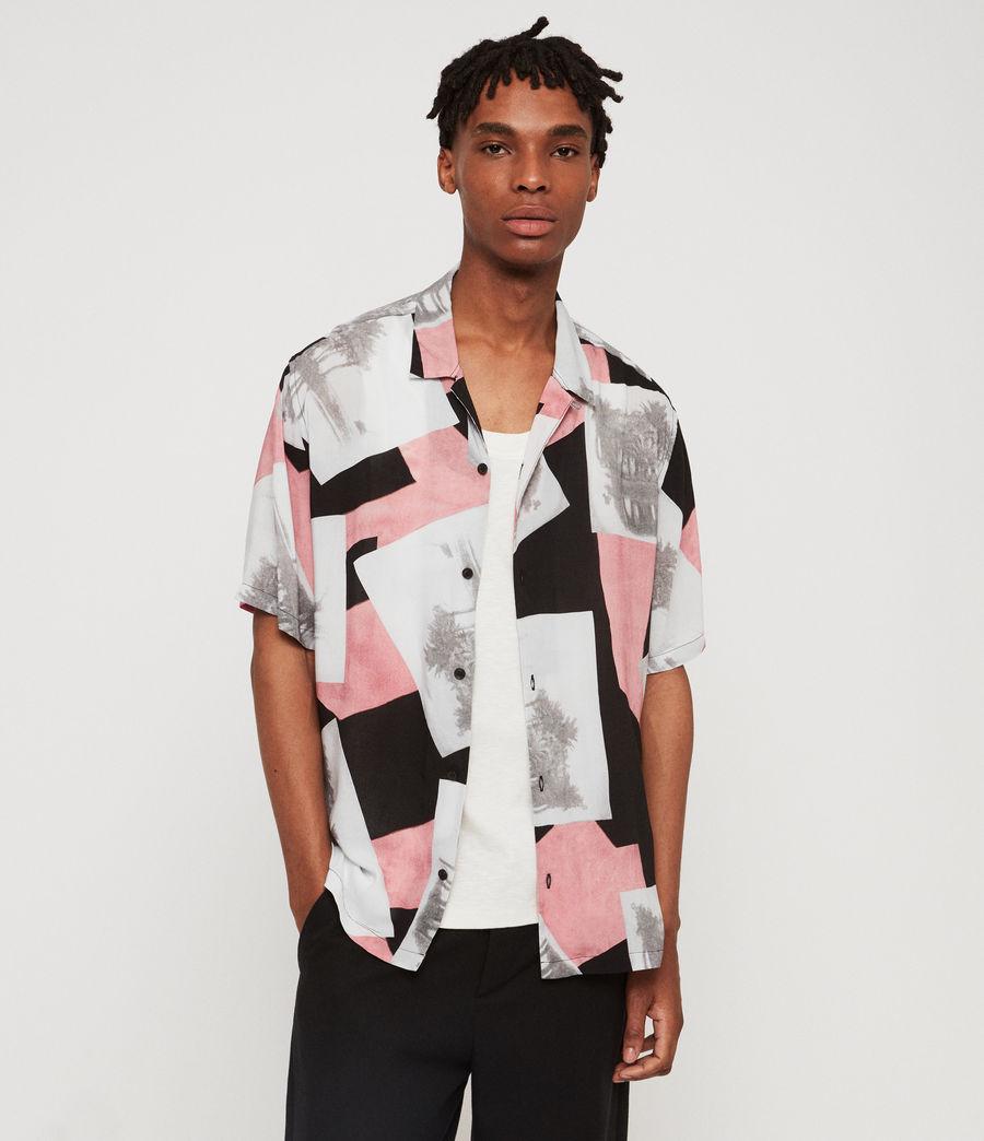 Hombre Camisa Livinston (jet_black) - Image 1