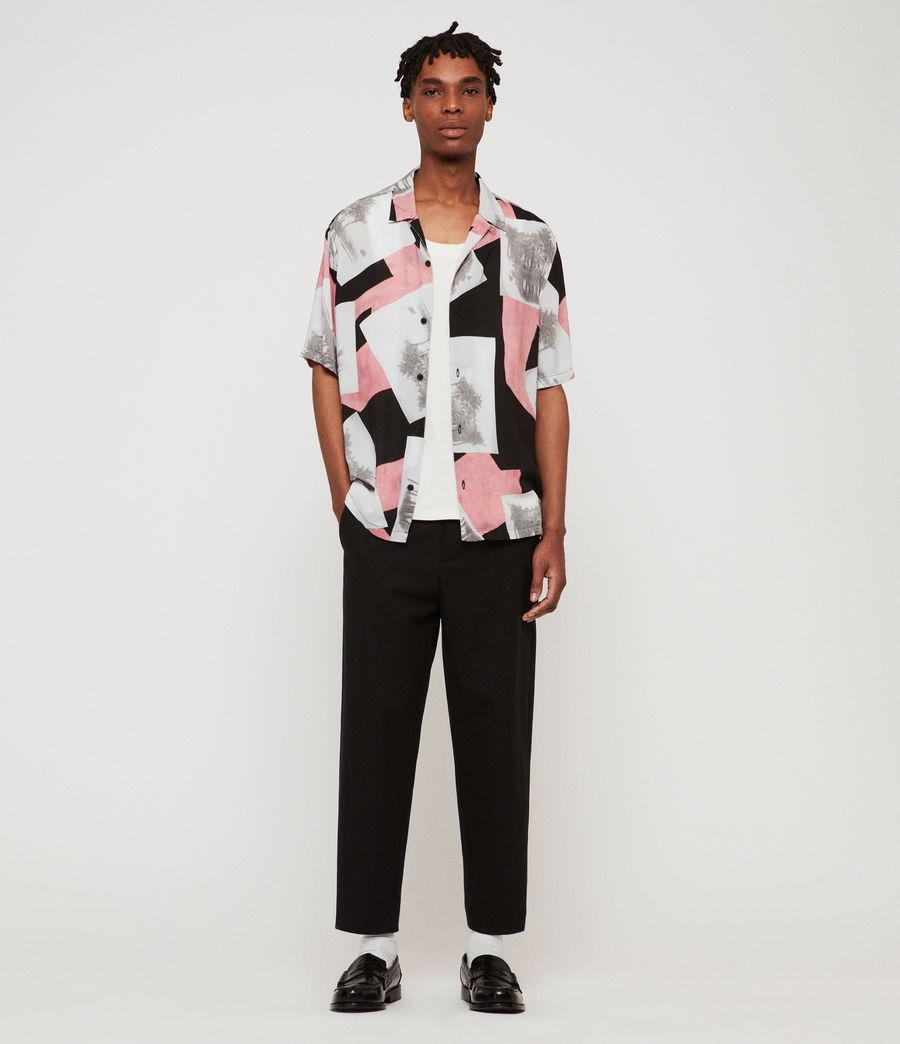 Mens Livinston Shirt (jet_black) - Image 3