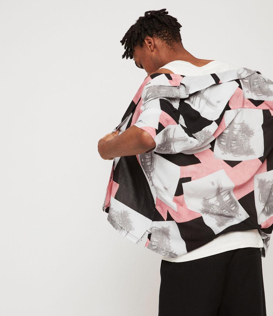 Mens Livinston Shirt (jet_black) - Image 4