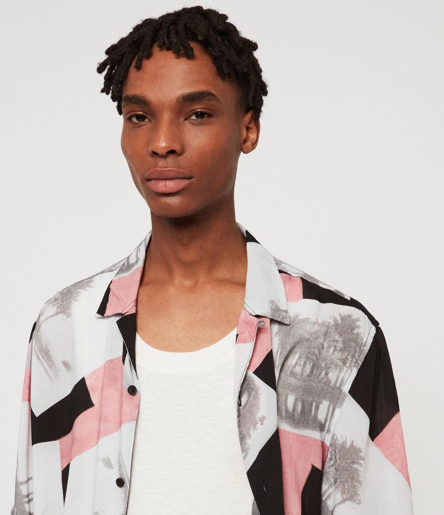Hombre Camisa Livinston (jet_black) - Image 5