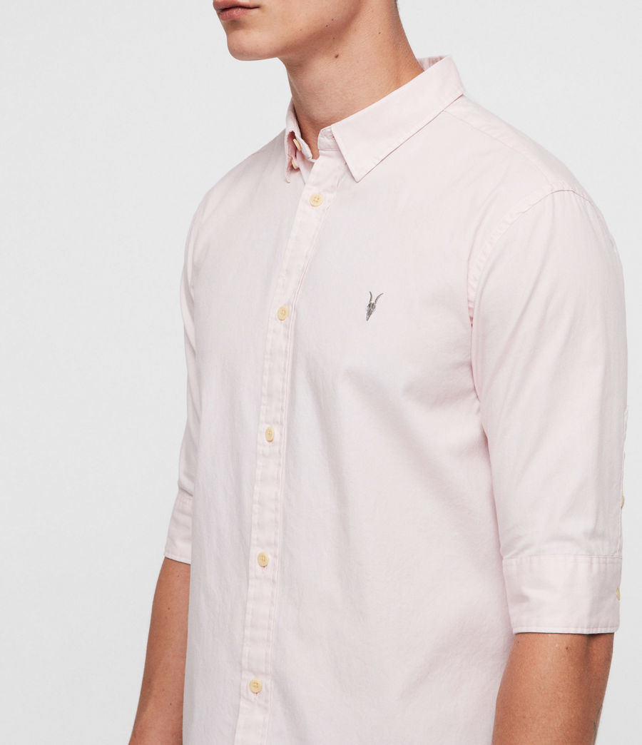 Men's Redondo Half-Sleeve Shirt (light_blue) - Image 2