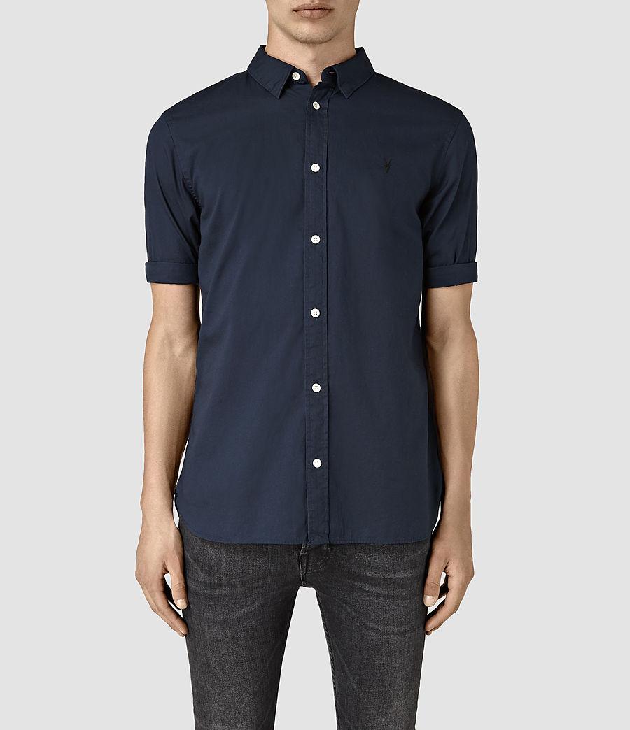Mens Redondo Half Sleeve Shirt (ink_navy) - Image 1