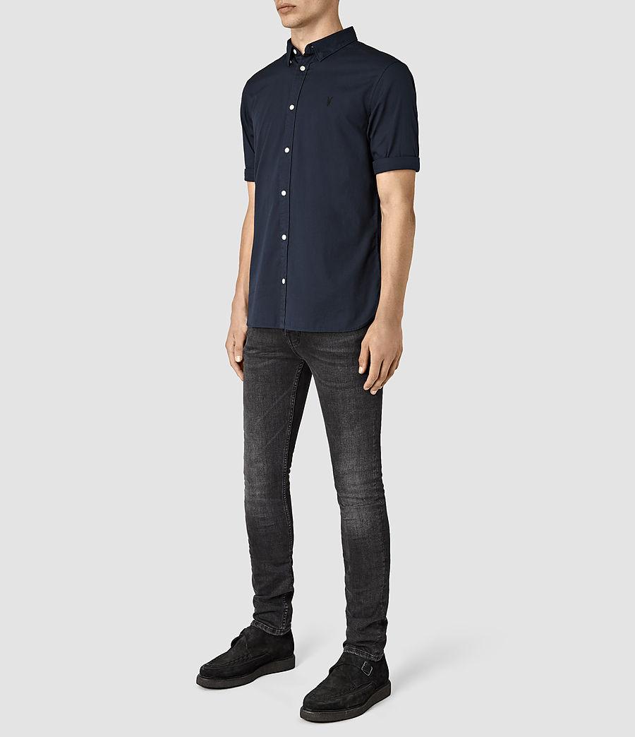 Mens Redondo Half Sleeve Shirt (ink_navy) - Image 2