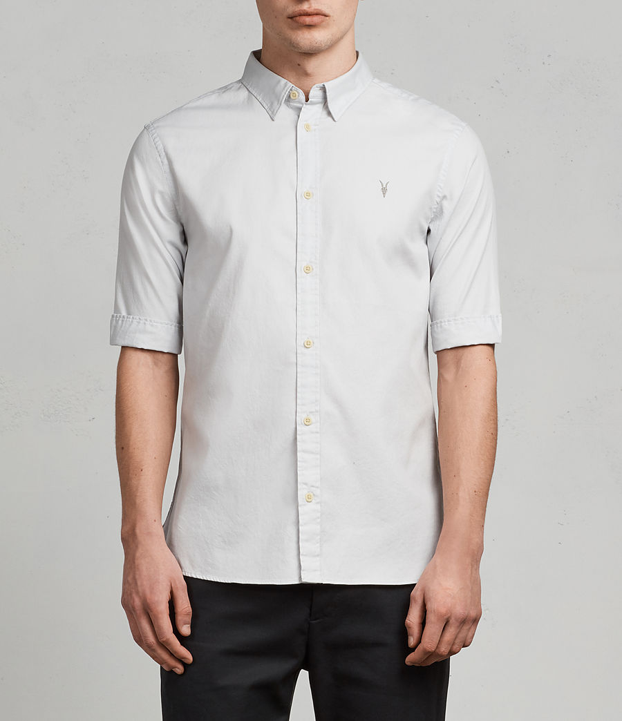 Men's Redondo Half Sleeve Shirt (celest_blue) - Image 1