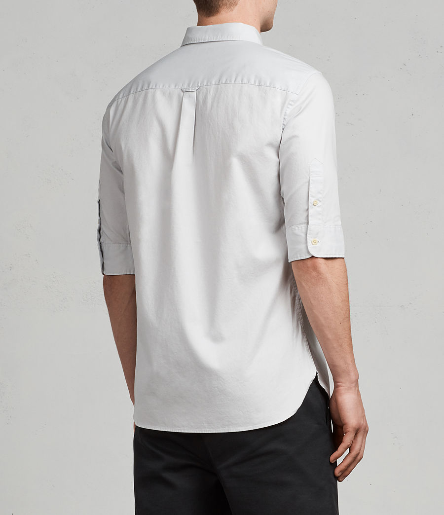 Men's Redondo Half Sleeve Shirt (celest_blue) - Image 4