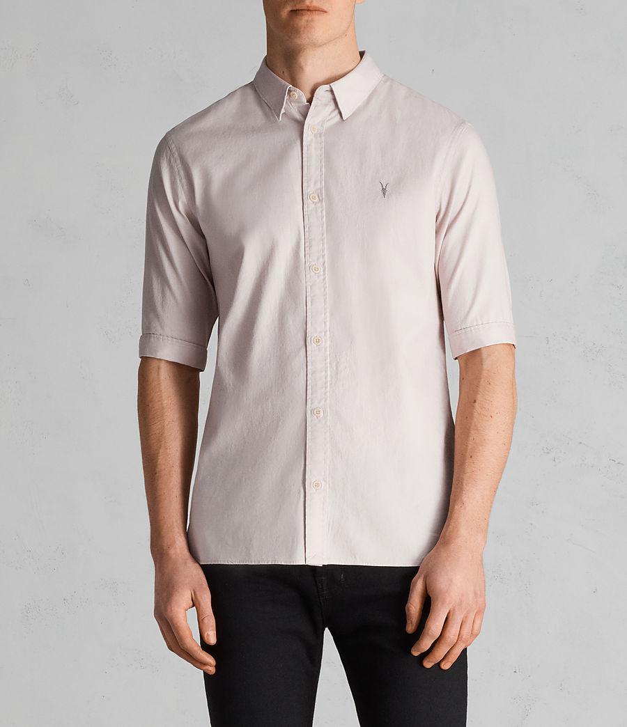 Mens Redondo Half Sleeve Shirt (river_pink) - Image 1