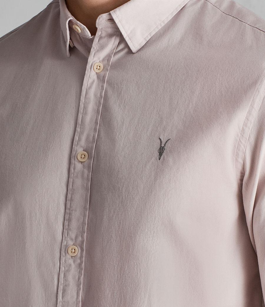 Mens Redondo Half Sleeve Shirt (river_pink) - Image 2