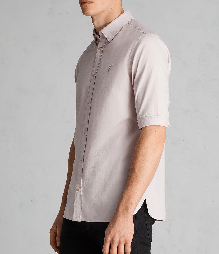 Mens Redondo Half Sleeve Shirt (river_pink) - Image 3