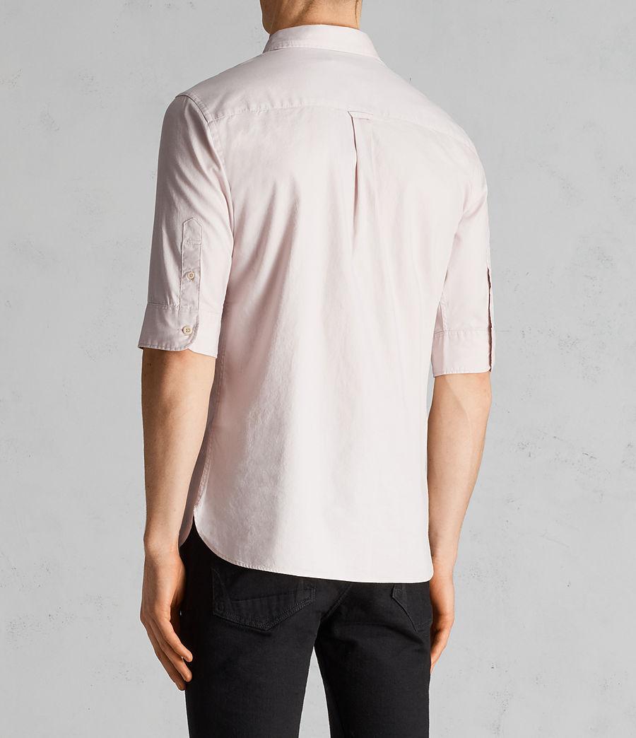 Mens Redondo Half Sleeve Shirt (river_pink) - Image 4