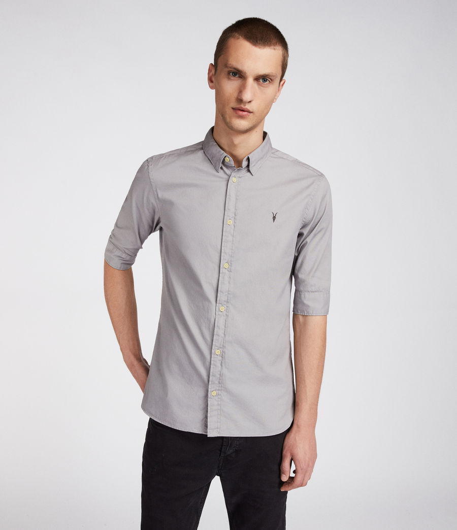 Herren Redondo Half Sleeve Shirt (land_grey) - Image 1