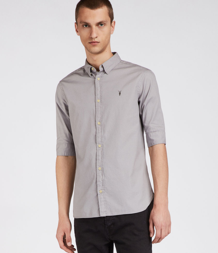 Herren Redondo Half Sleeve Shirt (land_grey) - Image 3