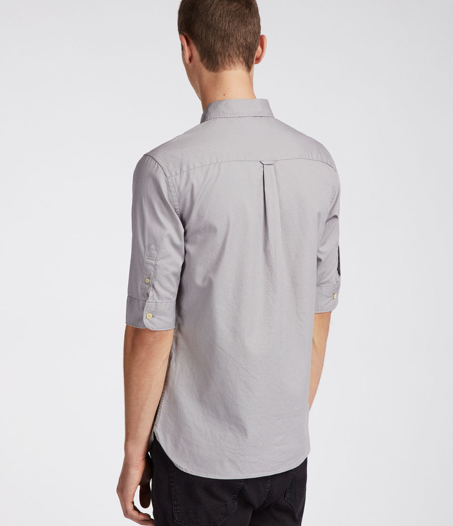 Herren Redondo Half Sleeve Shirt (land_grey) - Image 4