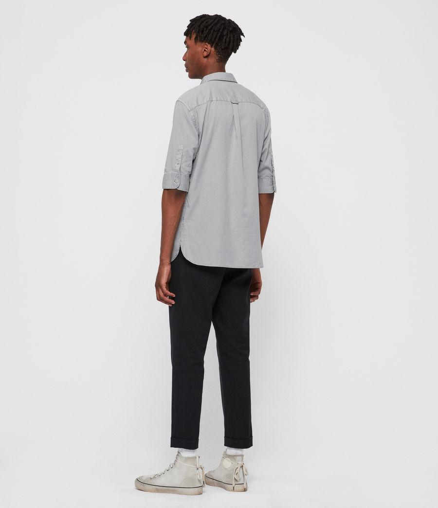Men's Redondo Half Sleeve Shirt (light_blue) - Image 5