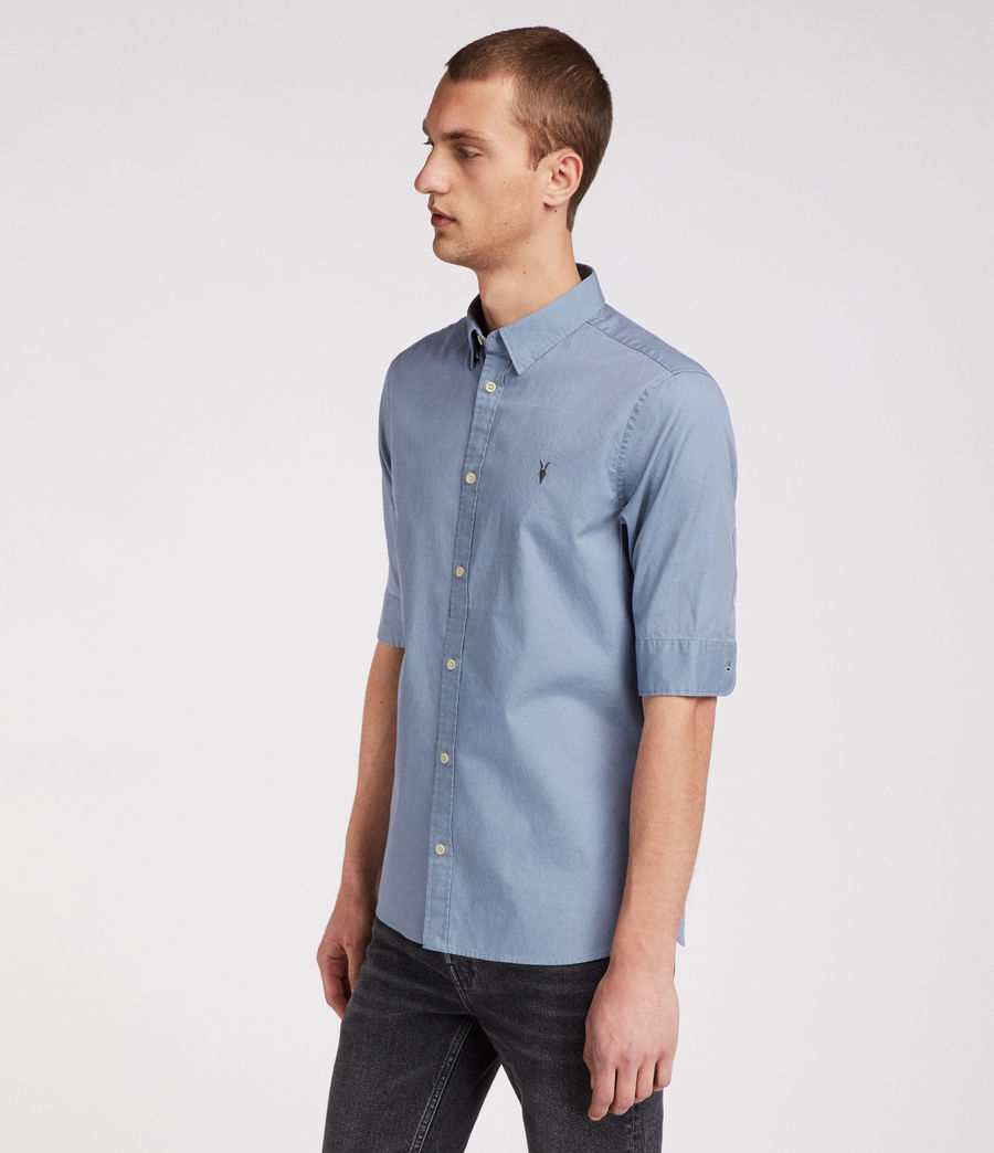 Men's Redondo Half Sleeve Shirt (dove_grey) - Image 1