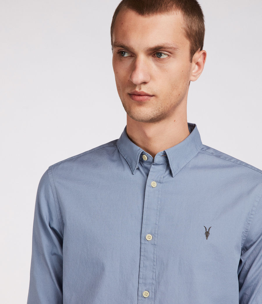 Men's Redondo Half Sleeve Shirt (dove_grey) - Image 2