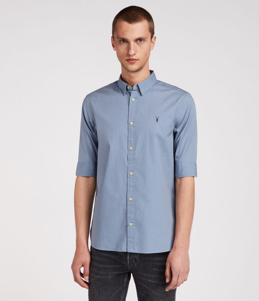Men's Redondo Half Sleeve Shirt (dove_grey) - Image 3