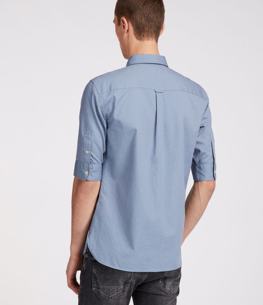 Men's Redondo Half Sleeve Shirt (dove_grey) - Image 4