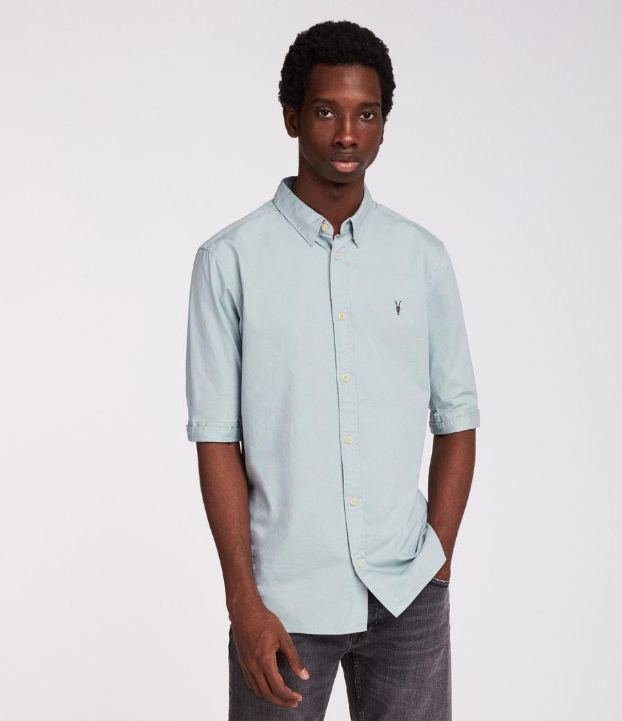 Mens Redondo Half Sleeve Shirt (joshus_green) - Image 1