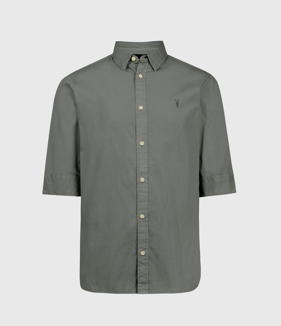 Men's Redondo Half-sleeved Shirt (light_blue) - Image 1