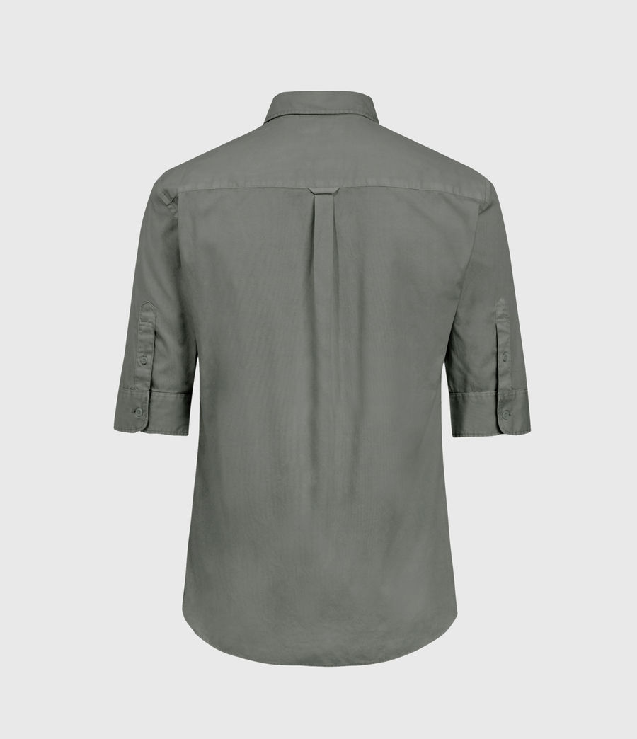 Men's Redondo Half-sleeved Shirt (light_blue) - Image 2